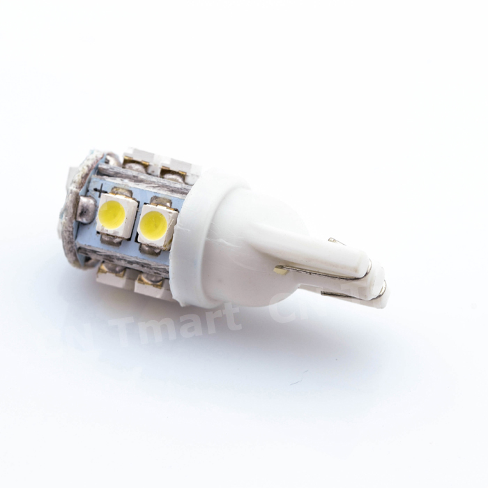 2018 New T10 W5W 194 168 501 10 LED 3528 SMD Pure White Car Auto Replacement Light Side Wedge Rear Bulb Lamp DC12V t10 w5w 4 smd 1210 3528 dc12v 194 168 car wedge led lights 4led marker lamps auto reading dome bulbs 4smd
