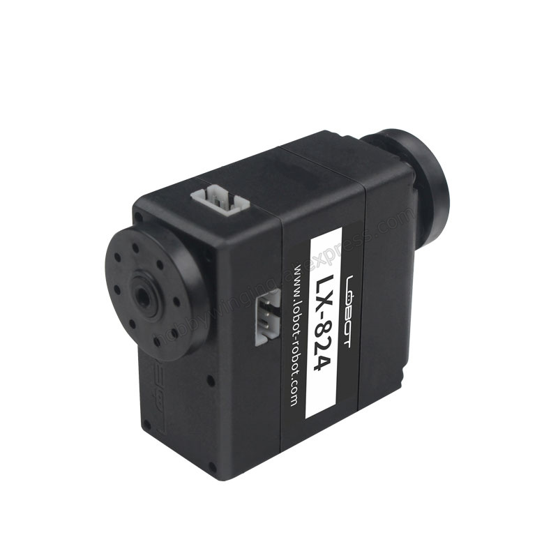 1PCS LX-824 17KG Three-port Bus Servo Intelligent Serial Robot Steering Gear Digital Servo High Torque For Bionic Robots Joints