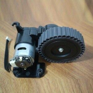 Image 3 - Sol tekerlek robotlu süpürge parçaları aksesuarları ilife A4 A4s A40 A8 T4 X430 X432 X431 robotlu süpürge tekerlekli motorlar