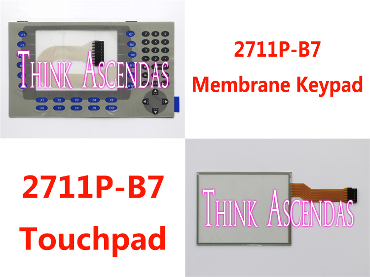 все цены на 1pcs New PanelView Plus 700 2711P-B7 2711P-B7C4D9 2711P-B7C4A1 2711P-RDB7C 2711P-B7C4B1 2711P-B7C4D Membrane Keypad /Touchpad онлайн