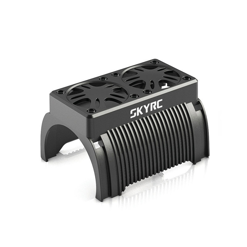 SKYRC twin motor cooling fan with housing for 1/5 scale rc brushless motor heatsink ...
