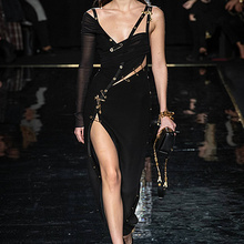 Высококачественное черное Бандажное платье с длинным рукавом на одно плечо из вискозы обтягивающее платье для коктейльной вечеринки