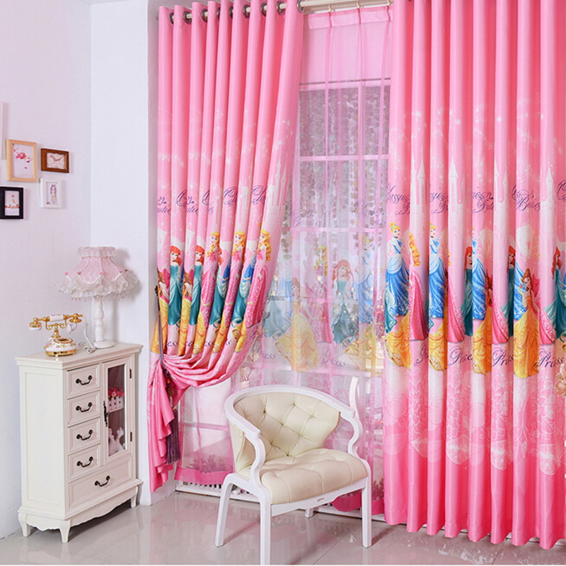 Korean Pink Color Dream Princess Design Cartoon Curtains For Kids Girls  Living Room Bedroom Shade Curtain. Compare Prices on Baby Bedroom Curtains  Online Shopping Buy Low