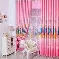 Coreano Cor Rosa Sonho Princesa Projeto Cortinas Dos Desenhos Animados Para Meninas Crianças Quarto Sala de estar Cortina de Sombra Tamanho Personalizado #20