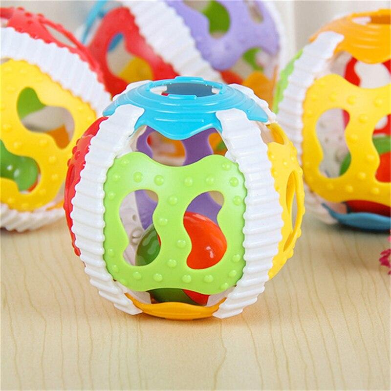 2019 Baby Speelgoed Luid Bell Ball Speelgoed Ontwikkelen Baby Intelligence Activiteit Baby Grijpen Rammelaars Hand Bell Speelgoed Rammelaar 2