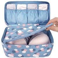 Waterproof Storage Bag Women Girl Lady Portable Travel Bra Underwear Lingerie Organizer Bags Cosmetic Makeup Toiletry