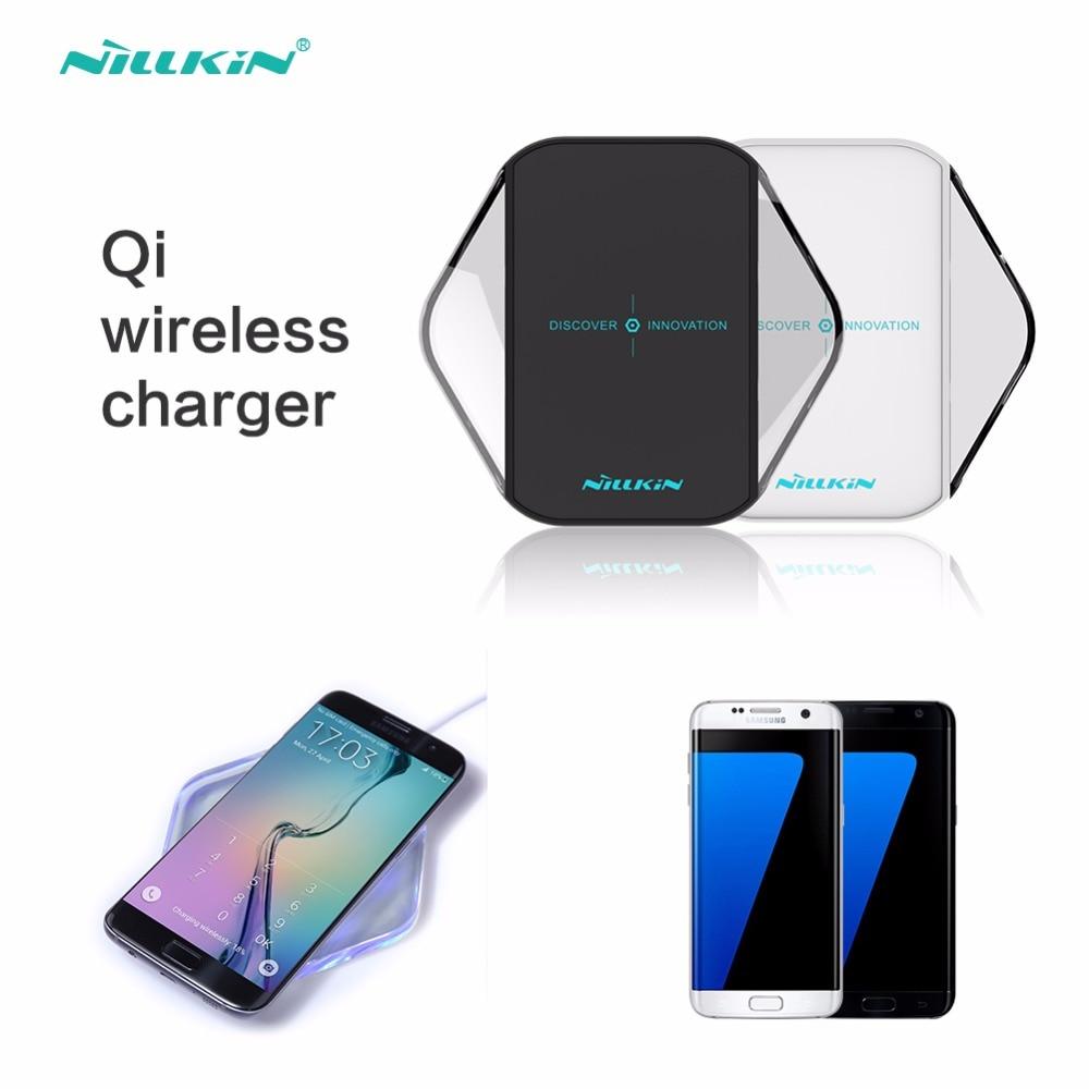 imágenes para Cargador Inalámbrico Qi, placa de Carga Original de Nillkin wireless charegr para SAMSUNG GALAXY S8 S8 Más S6 S7 S7 S6 Edge Borde Nota 5