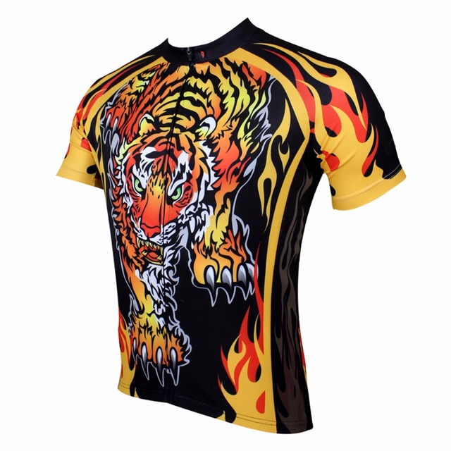 ILPALADINO New Bicycle Cycling Jersey Short Sleeve Tiger Appearance  Comfortable MTB Mountain Bike Bicycle Cycling Jersey 6265f7a40