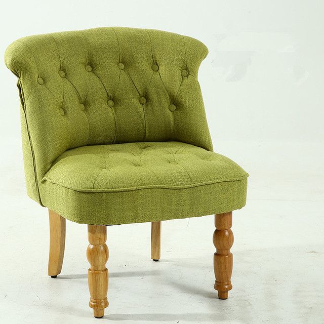 Casual Accent Chair with Button Tufts 3
