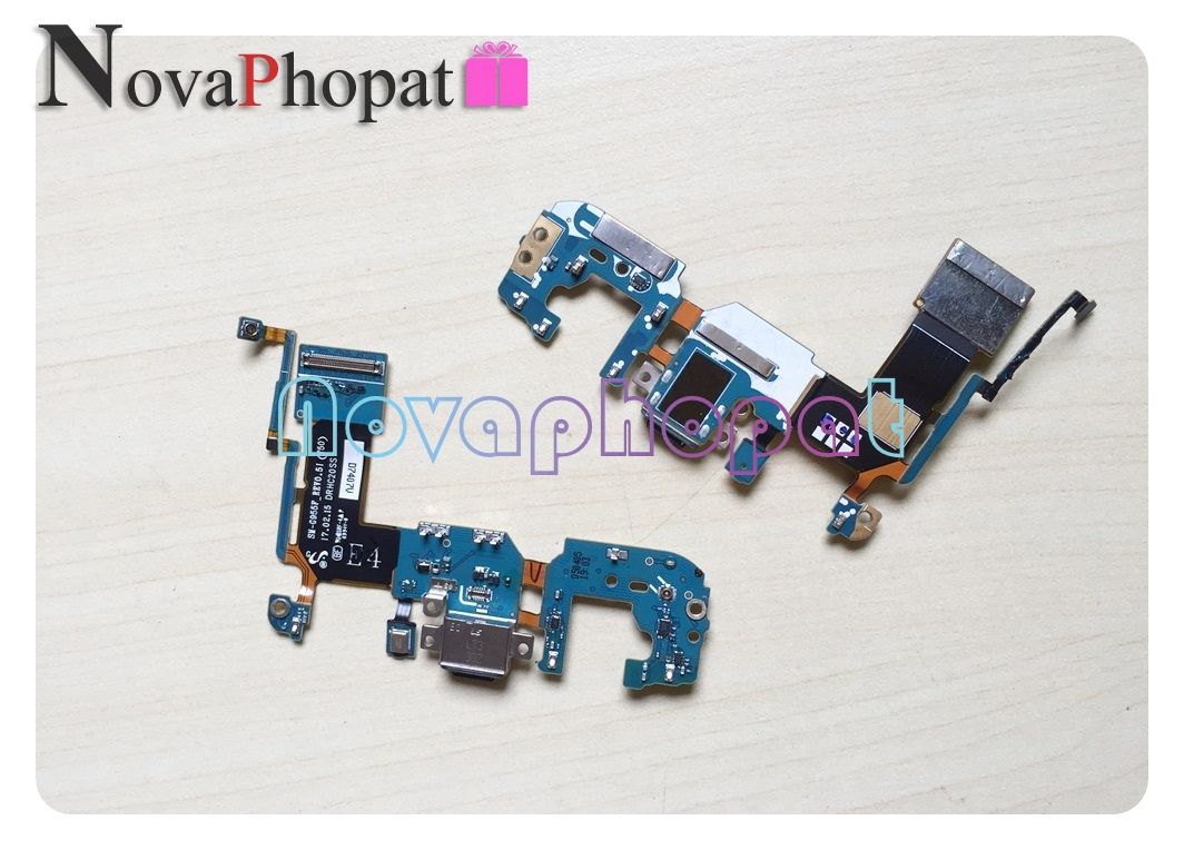 Novaphopat Charger Port For Samsung Galaxy S8 G950F / S8 Plus G955 USB Dock Charging Port Connect Connector Flex Cable Board