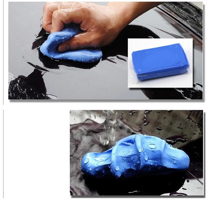 Realistic Auto Care 100g Magic Car Truck Clean Clay Bar Auto Detailing Cleaner Car Washer Blue Rust Oil Contamination Car Wash & Maintenance Car Wash Mud