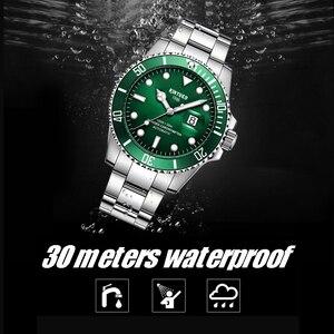 Image 4 - KINYUED แบรนด์ผู้ชายนาฬิกาอัตโนมัติบทบาทวันที่ Fashione luxury Submariner นาฬิกา Reloj Hombre Relogio Masculino