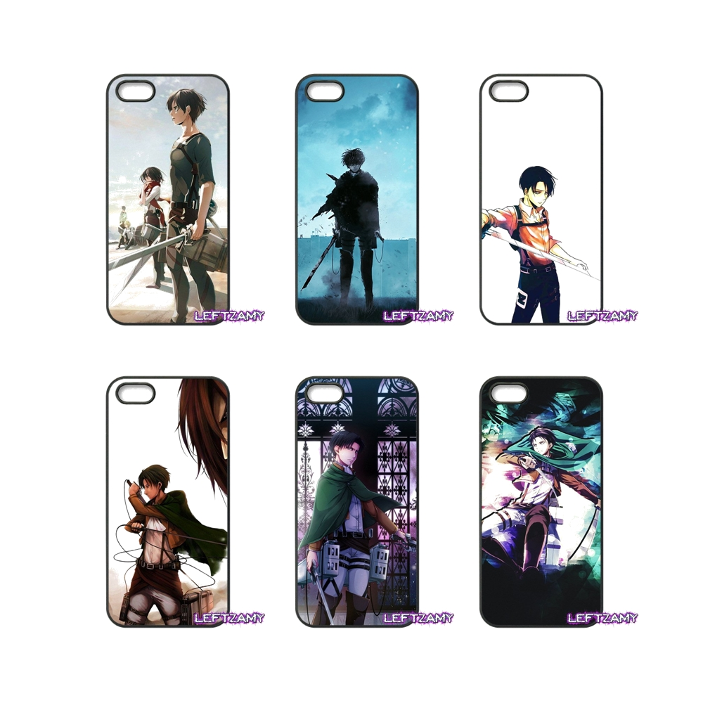Levi Ackerman Attack on Titan Hard Phone Case Cover For Samsung Galaxy Note 2 3 4 5 8 S2 S3 S4 S5 MINI S6 S7 edge Active S8 Plus