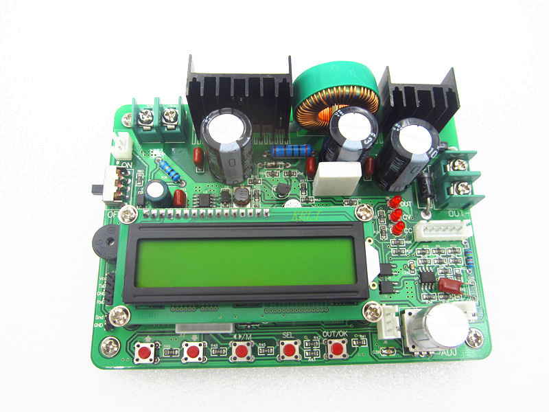 ZXY6005 upgraded version ZXY6005S Full CNC constant voltage constant current DC-DC regulated power supply,60V,5A, 300W ZhenCheng zxy6005s nc voltmeter ammeter constant voltage current dc dc power supply module with heat sink 0 60v 0 5a
