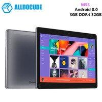 Оригинальный ALLDOCUBE M5S 4G планшет Phablet ПК Android 8,0 10,1 ''МТК X20 Дека планшет 3 ГБ 32 ГБ Wi Fi Dual SIM карты 5MP Камера