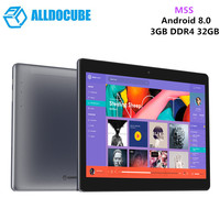 Original ALLDOCUBE M5S 4G Phablet Tablet PC Android 8.0 10.1'' MTK X20 Deca Core Tablet 3GB 32GB WiFi Dual SIM Card 5MP Camera
