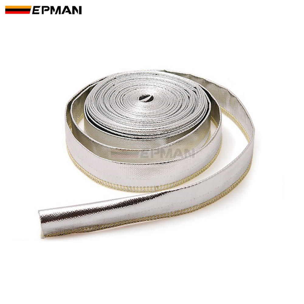 Heat Shield Sleeve Insulated Wire Hose Cover Wrap Loom Tube 20mm*10 ...