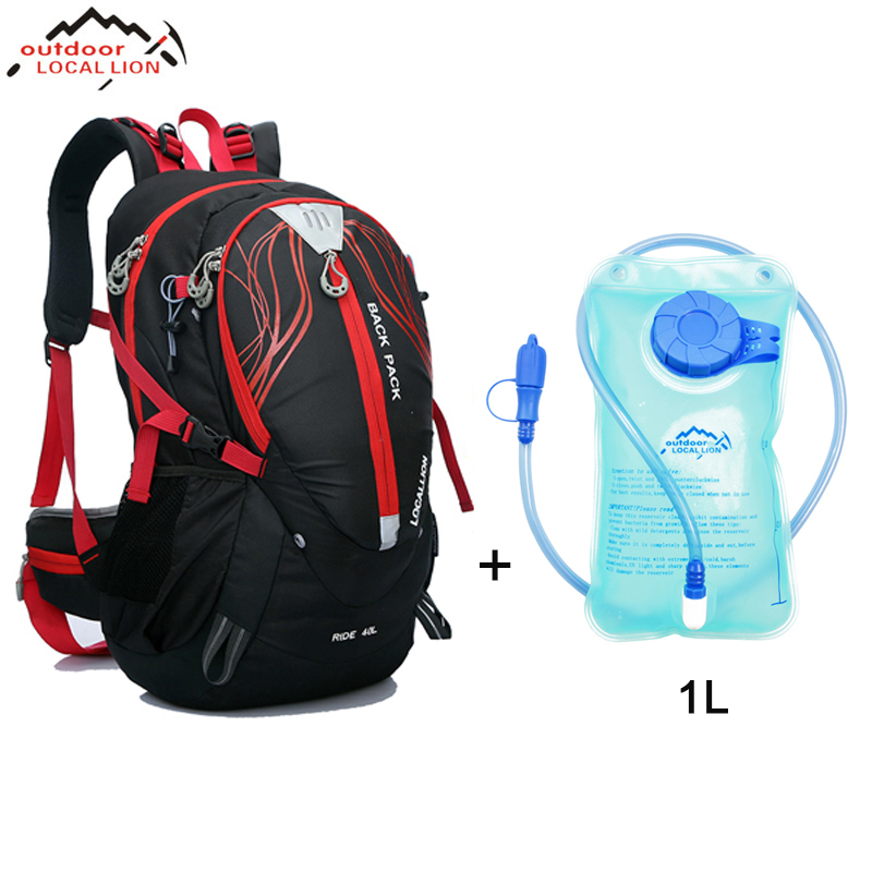 Waterproof Backpack 40L Stent System Bike Shoulder Backpack Sport Outdoor Hydration Bicycle Cycling Water Bag 40l waterproof