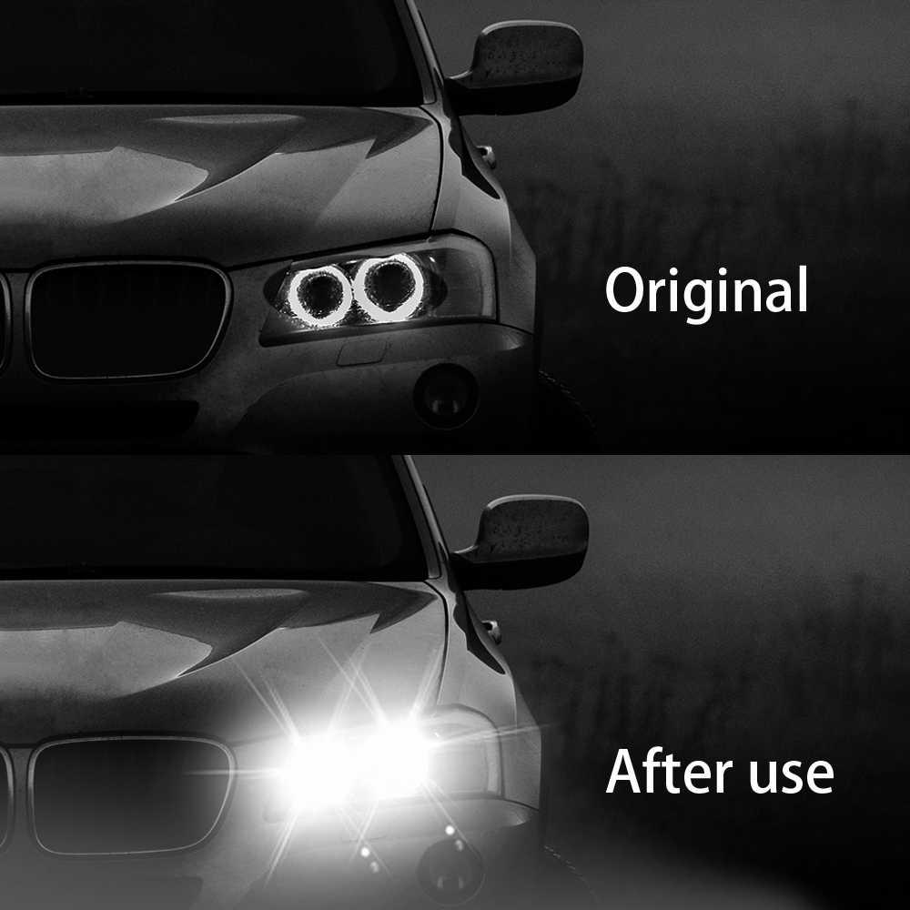 COB 2-LED Mobil Lebar Lampu Baca Lampu Plat Lampu T10 W5W 168 194 Kaca Side Marker Umbi Keren Putih 12 V mobil styling