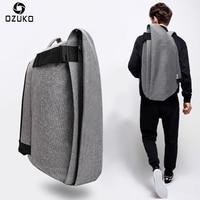 Ozuko New Oxford Bag Creative Casual Backpack Male Waterproof Computer Backpack Outdoor Travel Backpack