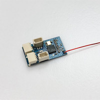 Micro receiver Dsm2 Flysky Frsky s fhss receiver is integrated with brush adjustment for mini RC Airplane