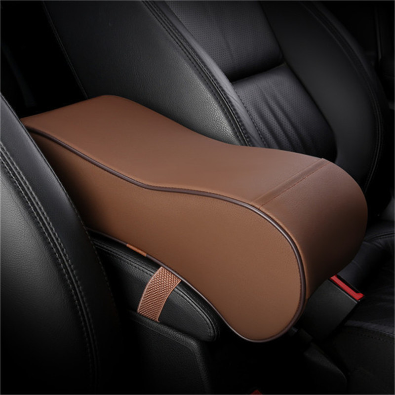 Car styling Interior PU armrest box armrest box heightening pad for Ford mondeo kuga Ecosport focus Car accessoriesCar styling Interior PU armrest box armrest box heightening pad for Ford mondeo kuga Ecosport focus Car accessories