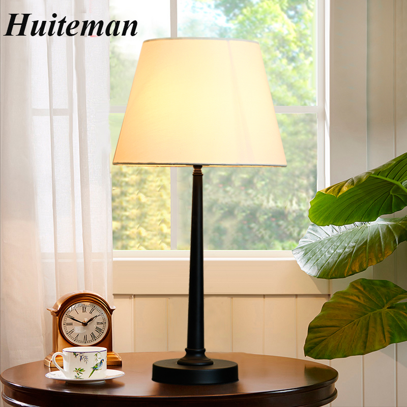 European Fabric Lampshade table lamp tall lights bedside hotel table lamps Luxary classic American table light bedroom foyer luxary classic american bedroom table light foyer european crystal table lamp glass tall table light bedside hotel table lamp
