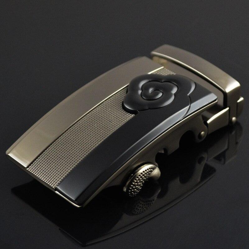 New Men's Belt Buckle Skylark Belt-buckle Zinc Alloy Head Business Accessories Automatic Buckle Width LY125-0363 3.5cm