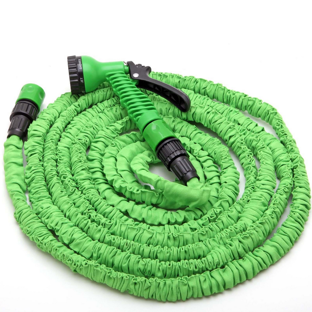 EE support 75FT Auto Magic Flexible Expandable Spray Gun Anti wear Water Hose With Nozzle Car
