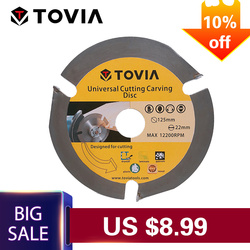 TOVIA 3T Circular Saw Blade Multitool Grinder Saw Disc Carbide Tipped Wood Cutting Disc Wood Cutting Power Tool Accessories