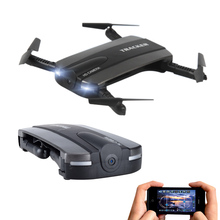 JXD 523 Foldable Drone With Camera Pocket Fpv Quadcopter Rc Drones Phone Control Wifi Mini Dron VS JJRC H37 Elfie Selfie Dron
