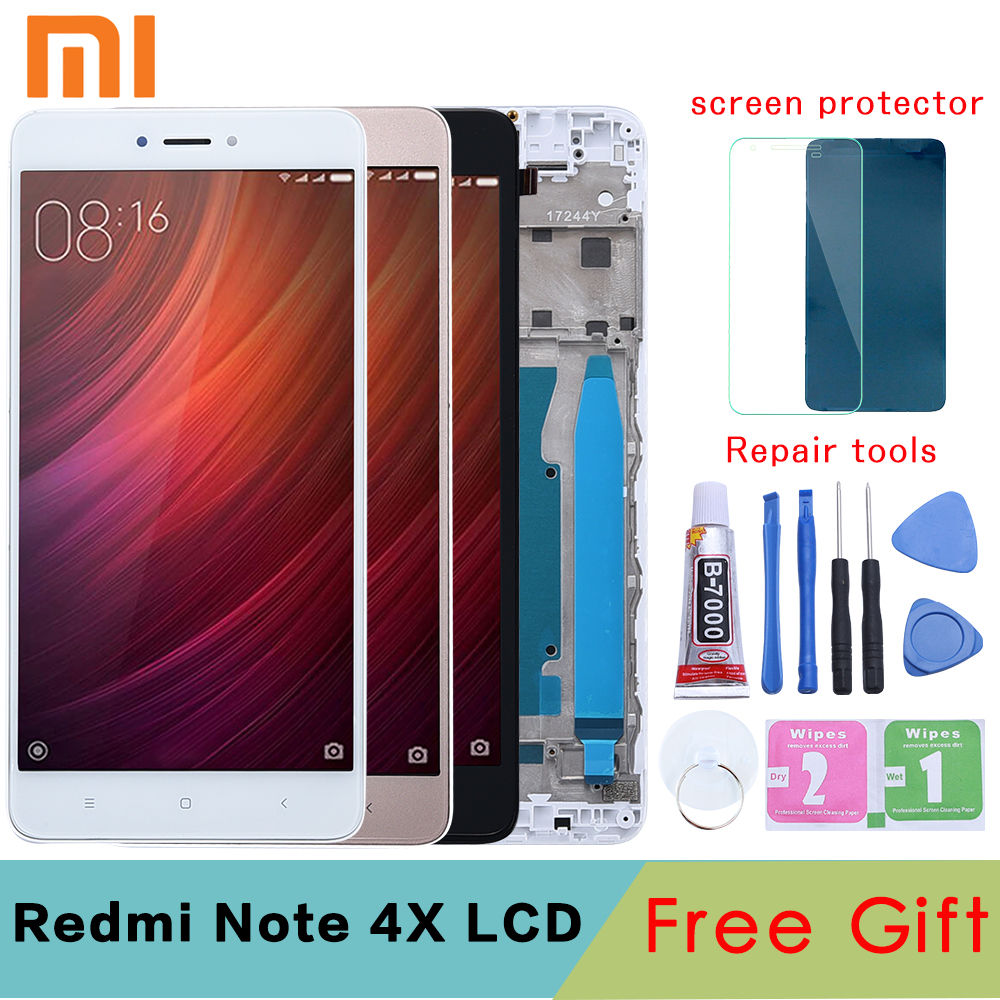 XIAOMI Lcd-Display Digitizer Replacement Touch-Screen Note-4x Snapdragon-625 Original