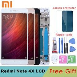 """Oryginalny 5.5 """"dla XIAOMI Redmi Note 4X wyświetlacz LCD dotykowy zamiana digitizera ekranu uwaga 4X LCD dla Snapdragon 625 w Ekrany LCD do tel. komórkowych od Telefony komórkowe i telekomunikacja na"""