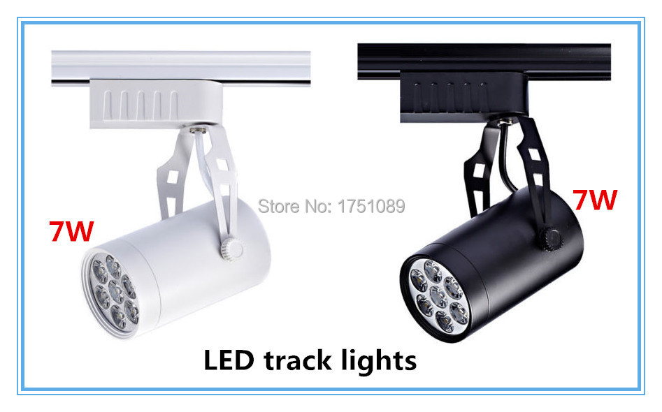LED Track Lights 7W AC85V 265V LED Spotlights Backdrop Ceiling Spotlights  Spot Light Bulb Display Cabinet Fixture In Track Lighting From Lights U0026  Lighting ...