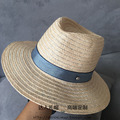 Double M standard linen hat in the summer Peach heart Sir Mo beach hat Sun hat bonnet