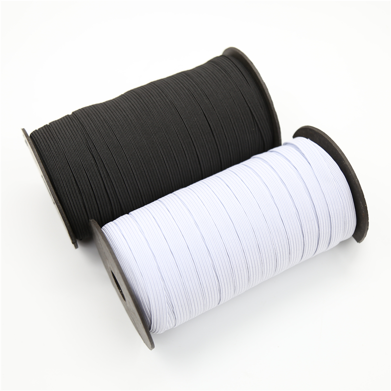 "2/"" width Black STRETCH ELASTIC FLAT ELASTIC WAIST BAND CUFFS WOVEN Dress sew"
