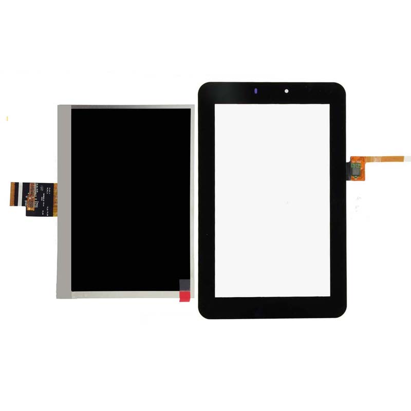 For Huawei MediaPad 7 Youth s7-701 S7-701u S7-701w Black Touch Screen Sensor Digitizer Glass + LCD Display Screen Panel Monitor free dhl for for zte blade s7 lcd touch screen new arrive display digitizer glass panel replacement for zte blade s7