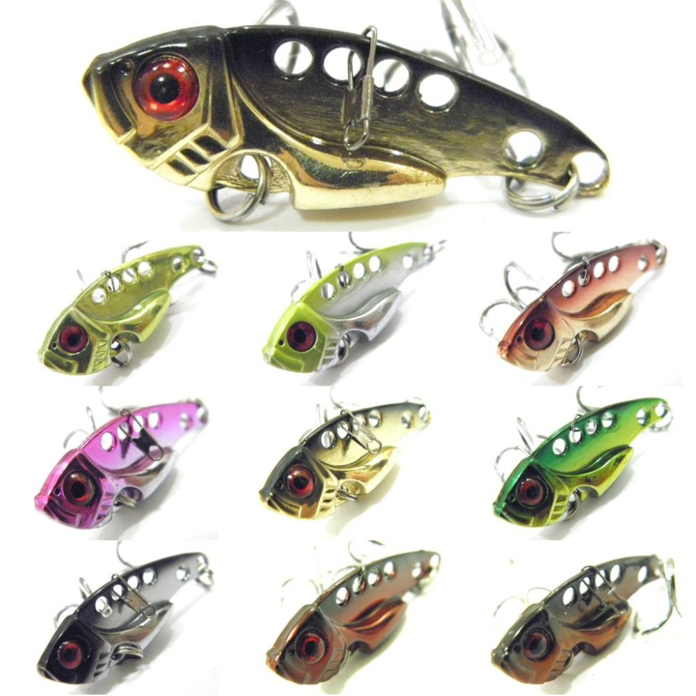 Fishing Lure Blade Lure Metal VIB Hard Bait Fresh Water Shallow Water Bass Walleye Crappie Minnow Fishing Tackle BL3 1x japan pike fighter musky fishing lure floating minnow fresh water hard plastic baits 30g 160mm bass pike lure walleye crappie