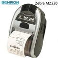 10 pçs/lote Preço Especial!! Novo e Completo para Zebra MZ 220 Versão Bluetooth Móvel Impressora Térmica