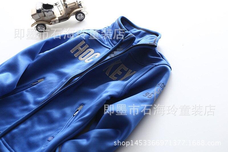 Der neue Kinder Sport Hemdkragen Jacke Reißverschluss Freizeit - Kinderkleidung - Foto 3