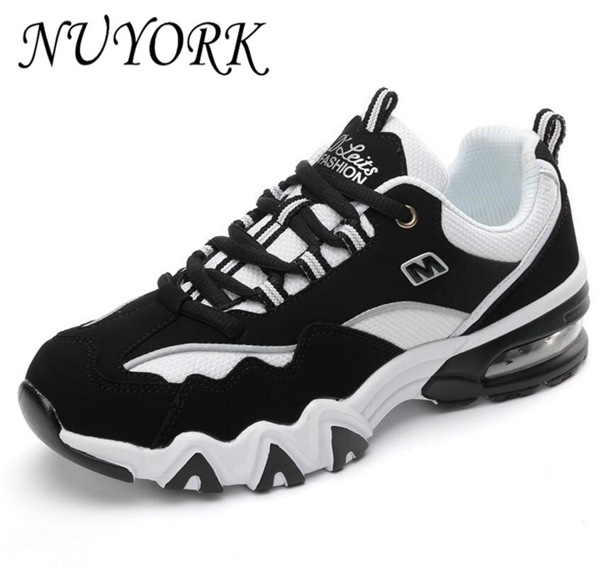 NUYORK New listing Hot sales  brand spring Breathable men & women sports shoes running sneakers Air cushion shoes 816-A16