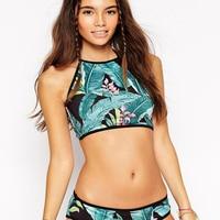 Bikinis 2019 Sexy Swimwear Women Swimsuit Push Up Brazilian Bikini set Neoprene Summer Beach Bathing Suit female Biquini
