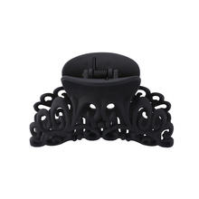 1Pcs Plastic Large Hollow Out Hair Claw Clip Carving Crab Ha