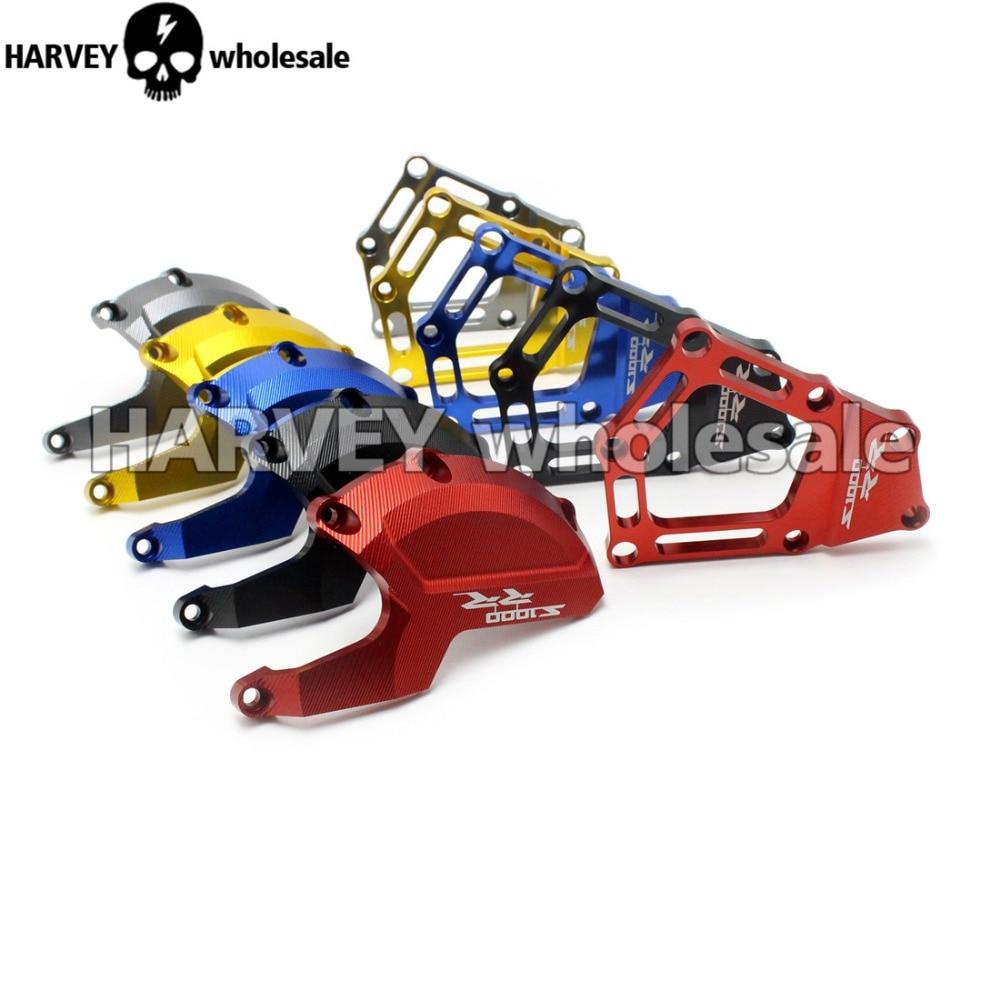 Gold Engine Saver Stator Case Guard Cover Frame Slider Protector For BMW S1000RR HP4 K42 K46 2009 2010 2011 2012 2013 2014 2015 racing engine stator cover set protector guard for honda cbr1000rr 2008 2009 2010 2011 2012 2013 2014 2015 2016