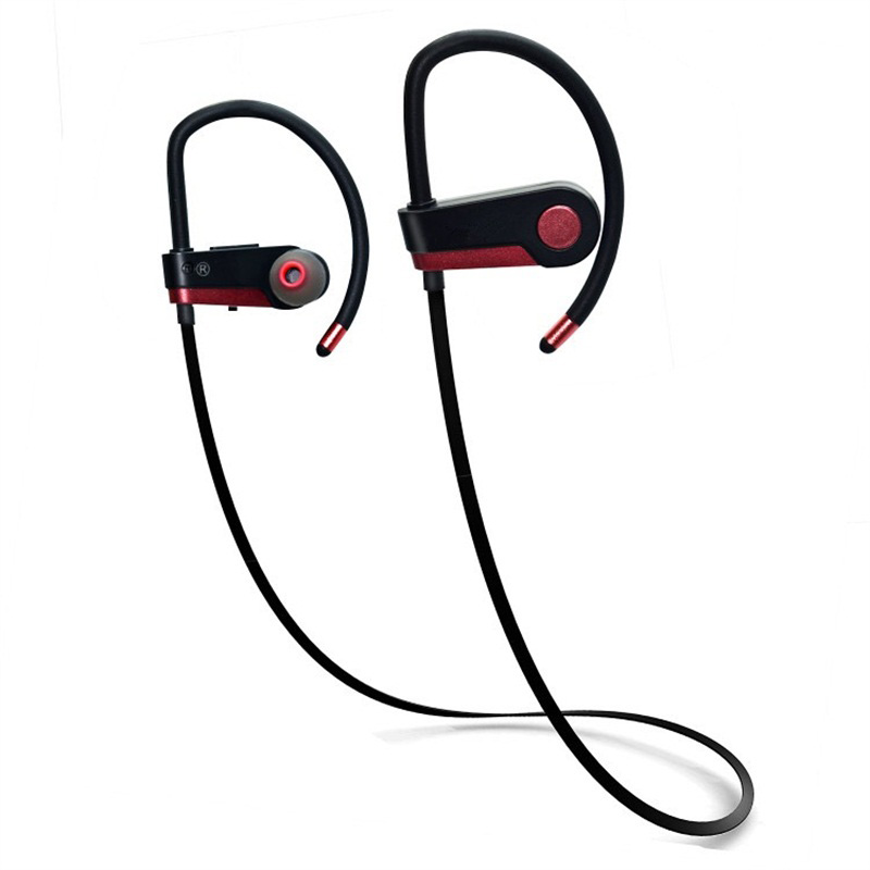 C6 Sport Bluetooth Earphone Wireless Headphone In-Ear Stereo Headset Bass Earphones Running Earbuds with Mic for Phone