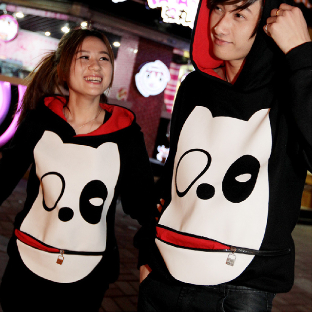 2013 fashion the clothing of large sizes clothing for lovers hoodie men brand lovers set discount cotton set MW081