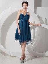2015 Sexy Open Back Kurze Brautkleider A-line Liebsten Chiffon Cocktailkleider Mit Straps Nach Maß cd6517