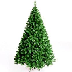 210 cm Milieubescherming PVC Bladeren Kerstboom