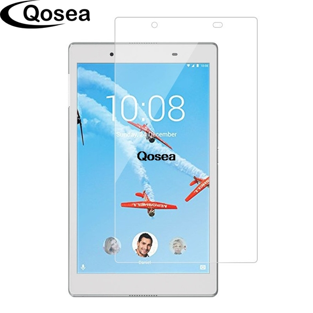 US $8 7 20% OFF|Qosea Tempered Glass For Lenovo Tab 4 8 TB 8504 TB 8504F  Premium Screen Protector 2 5D 9H Ultra Clear Tablet PC Protective Film-in
