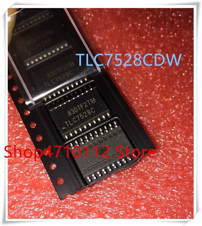 NEW 10PCS LOT TLC7528CDWR TLC7528CDW TLC7528C TLC7528 SOP 20 IC